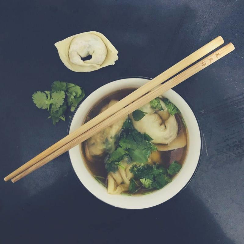 Рецепт китайского супа вонтон.